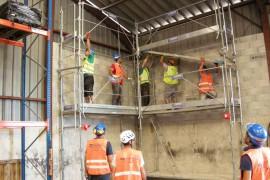 Travailler sur un échafaudage : les formations nécessaires