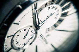 Le temps : De la gestion du risque à l'anticipation du risque.